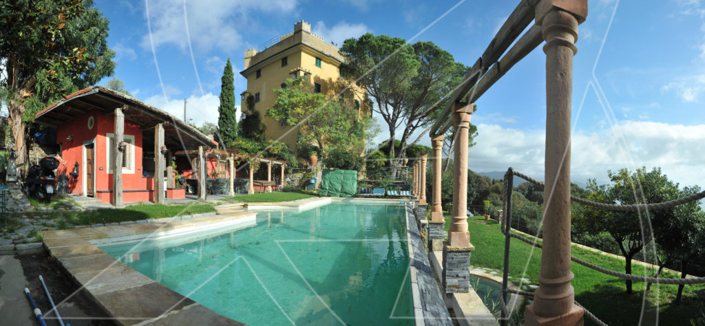 San lorenzo della costa porzione di villa con piscina in - Immagini ville con piscina ...