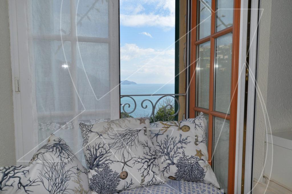 Zoagli scogliera affitto appartamento vista mare con box - Affitto casa con giardino ...