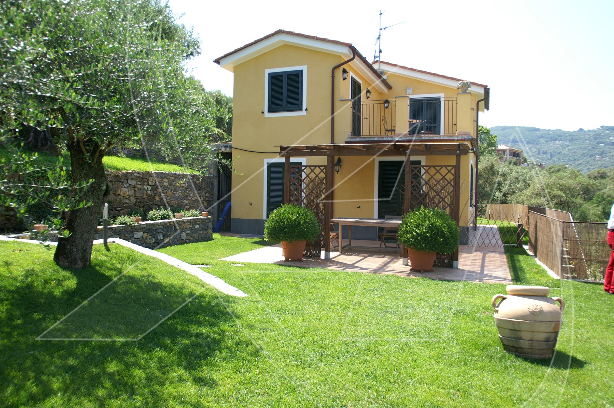 Affitto villa con piscina e giardino a santa margherita ligure