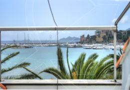 Affitto monolocale sul mare a Rapallo, di fronte alla spiaggia
