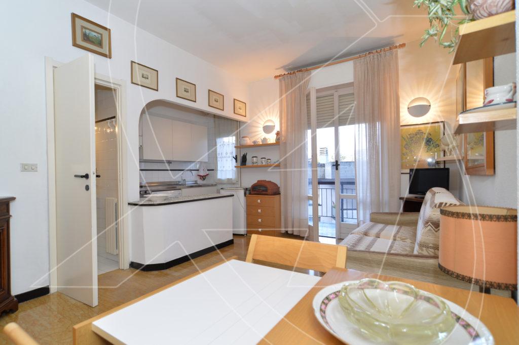 Rapallo: monolocale in affitto vicino a mare e stazione