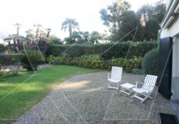 Rapallo: apartment in villa for rent, with garden, in harbor area