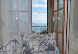 Zoagli scogliera – affitto appartamento vista mare con box, terrazza e giardino