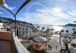 Appartamento ultimo piano vista mare in affitto a Rapallo