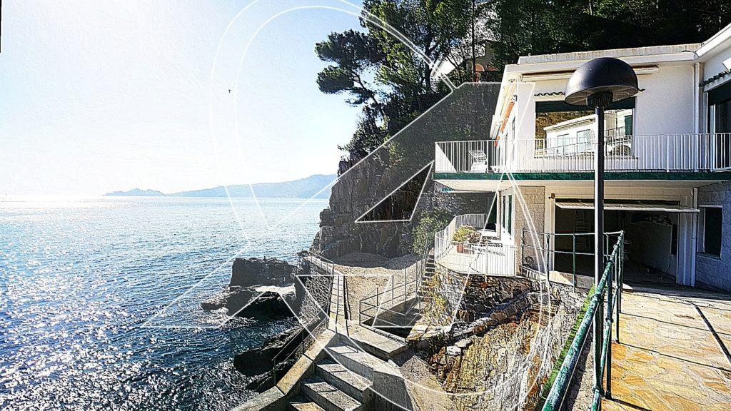 Villa in affitto sul mare tra Rapallo e Zoagli
