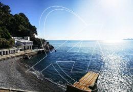 Villa in affitto sul mare tra Rapallo e Zoagli a Marina di Bardi