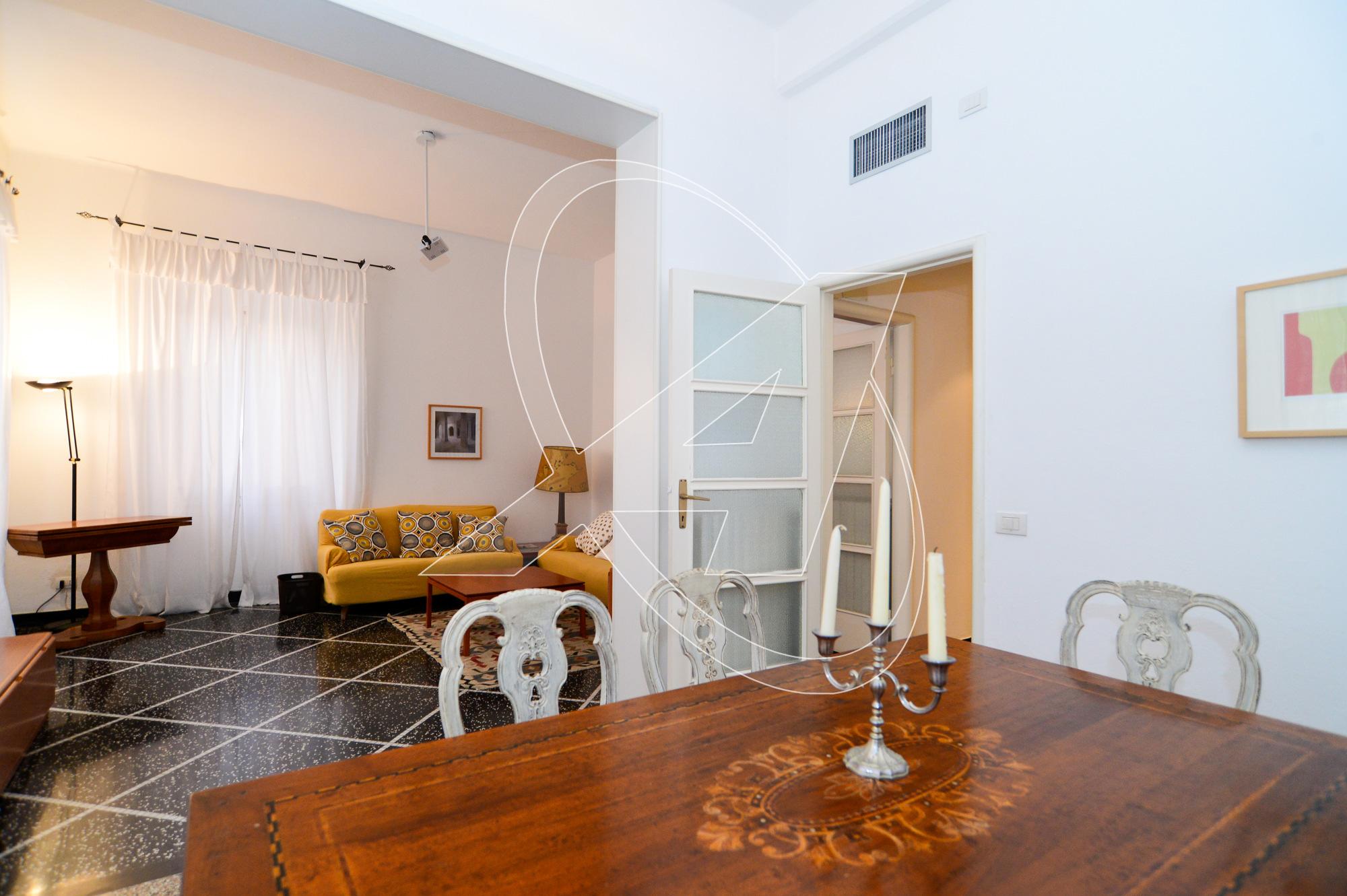 Santa Margherita Ligure affitto appartamento arredato, con ascensore in zona Corte - porto