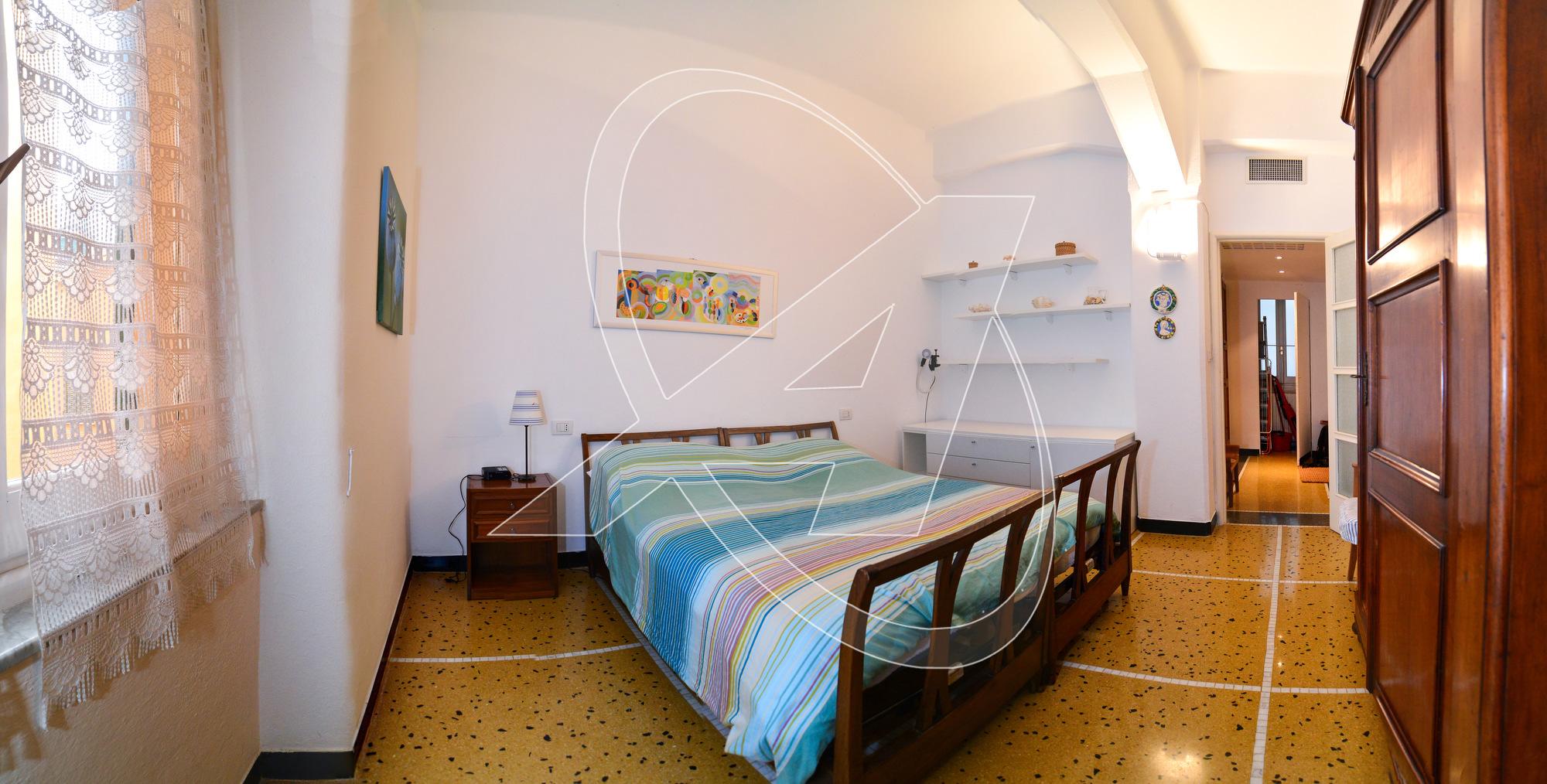 Santa Margherita Ligure affitto appartamento arredato con tre camere da letto