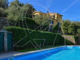 Villa a SANTA MARGHERITA LIGURE con piscina e vista mare